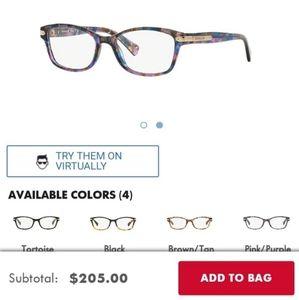 Coach Prescription Glasses